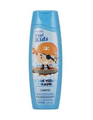 Shampoo Vini Kids Aloe Vera e Malva 330ml