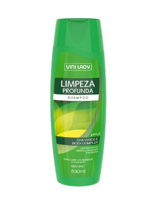 Shampoo Limpeza Profunda - Chá Verde e Bioex Complex 330ml