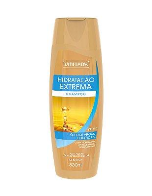 Shampoo Hidratação Extrema - Óleo de Argan e Filtro UV 330ml