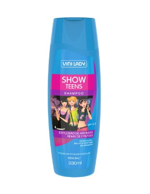 Shampoo Show Teens - Remix de Frutas 330ml