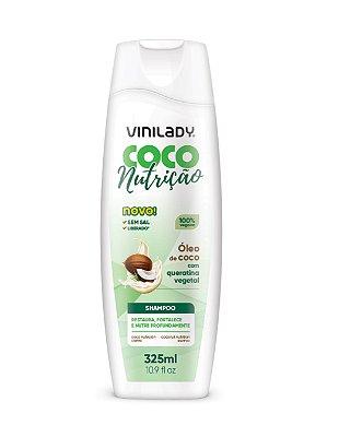 Shampoo Coco Nutrição - Óleo de Coco com Queratina Vegetal 325ml