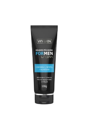 Bálsamo Pós Barba For Men Urban Camomila + Mentol + Alantoína 100gr