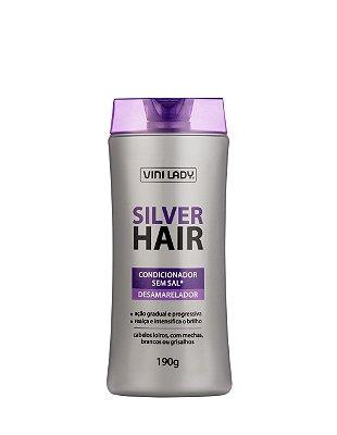 Condicionador Desamarelador Silver Hair 190gr