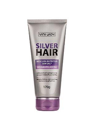 Máscara Silver Hair Desamareladora 170g