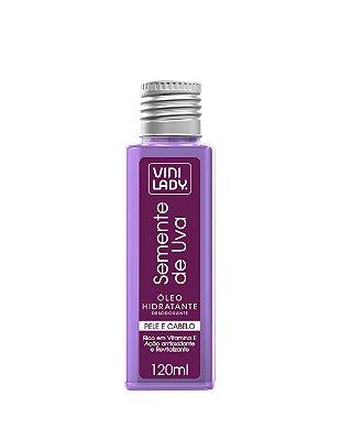 Óleo Hidratante Pele e Cabelo Semente de Uva 120ml