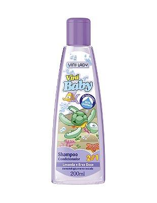 Shampoo Vini Baby 2×1 Lavanda e Erva Doce 200ml