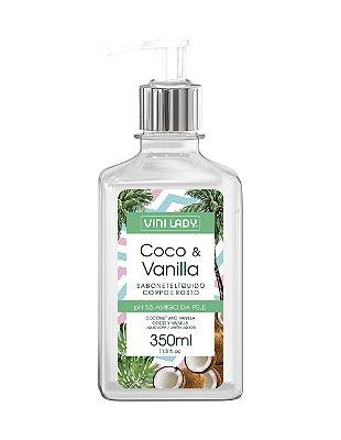 Sabonete Líquido Hidratante Coco e Vanilla 350ml