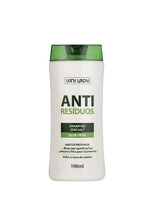 Shampoo Anti-Resíduos Aloe Vera 190ml