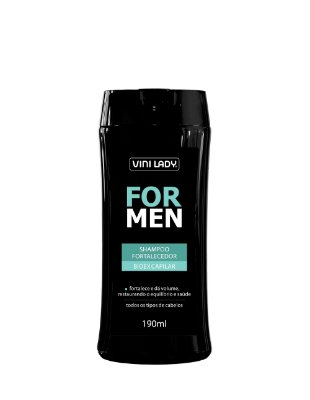 Shampoo Fortalecedor For Men - Bioex Capilar 190ml