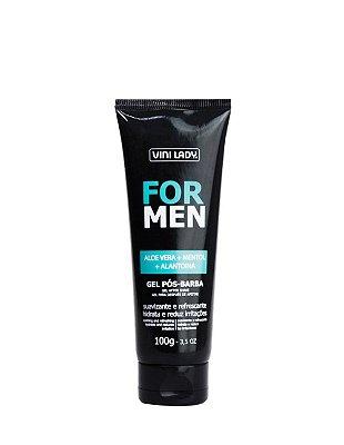 Gel Pós-Barba For Men - Aloe Vera + Mentol + Alantoína 100g