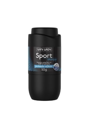 Desodorante Roll On Antitranspirante Sport Energy, sem álcool, toque seco 50g