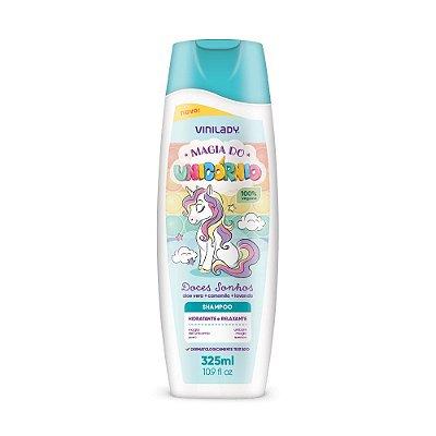 Shampoo Vini Kids Magia do Unicórnio 325ml