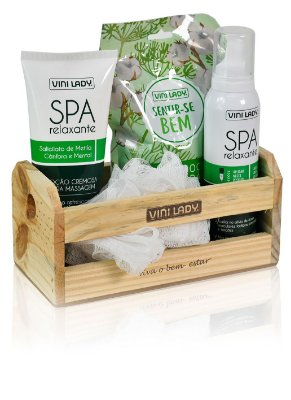 Kit Vini Lady Spa Relaxante