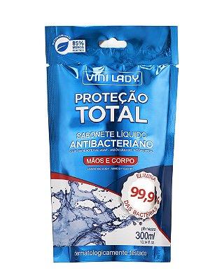 Sachê Sabonete Líquido Antibacteriano 300ml