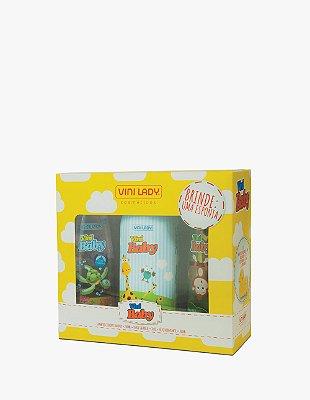 Kit Vini Baby Amarelo com Brinde - Edição Especial