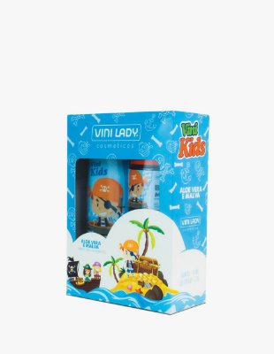 Kit Vini Kids Shampoo Aloe Vera e Malva + Gel