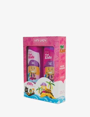 Kit Vini Kids Shampoo + Condicionador Banho de Brilho
