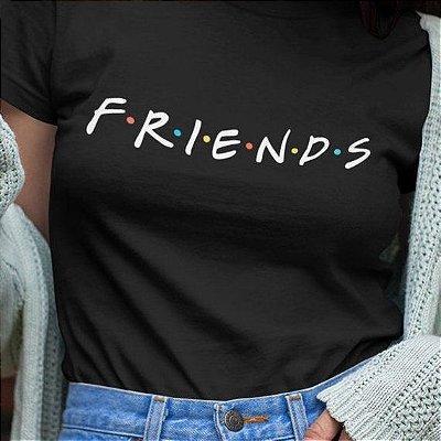 T-Shirt Friends Preta