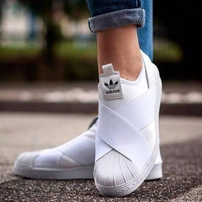 Tênis Adidas Slip On Branco