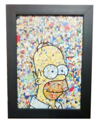 Quadro Decorativo - Simpsons Personagens