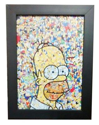 Quadro Decorativo - Simpsons Personagens