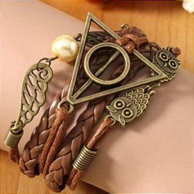 Pulseira Harry Potter Relíquias