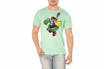 Camiseta Masculina Verde Bebê Personalizada