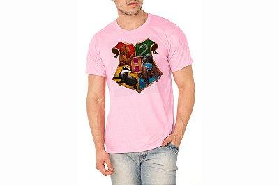Camiseta Masculina Rosa Bebê Personalizada