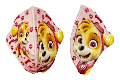 Conjunto de 2 Máscaras de Proteção Infantil Lavável Personalizada