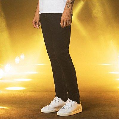 Calça Jeans Escura Básica Masculina Floyd - Dark Denim