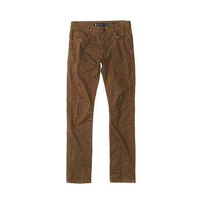 Calça de Sarja Masculina Skinny 5 Pockets Sarja Color - Caramelo