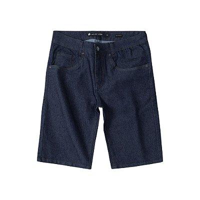 Bermuda Jeans Escura Masculina Basis Range Dark - Dark Denim