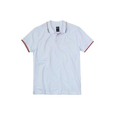 Camisa Polo Masculina Nederlands em Piquet - Branco