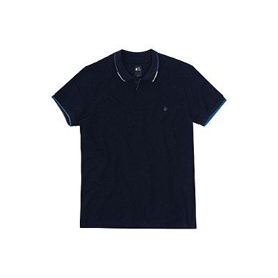 Camisa Polo Masculina Nederlands em Piquet - Marinho