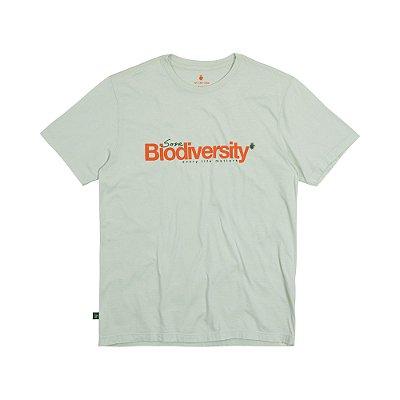 Camiseta Masculina em Tingimento Natural BIODIVERSITY - VERDE CLARO