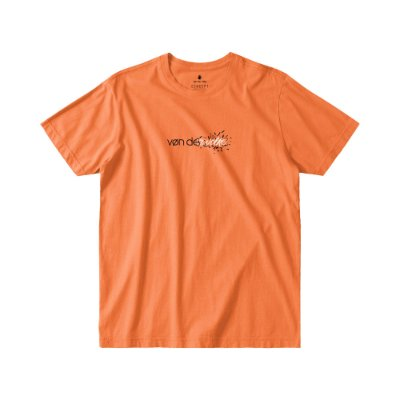 Camiseta Masculina Manga Curta TRANSITION - LARANJA