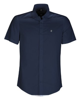 Camisa Basis Short Marinho