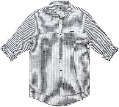 Camisa Duo Stripes Branco
