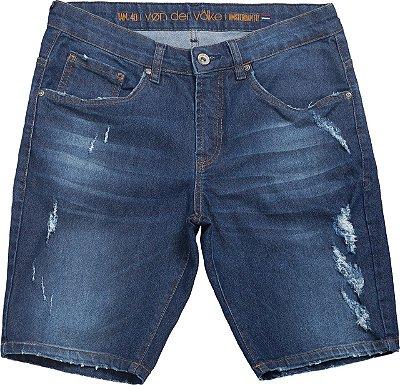 Bermuda jeans ster dark denim
