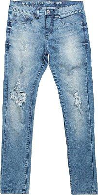 Calça jeans dimensie light denim