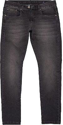 Calça jeans dark patch black denim
