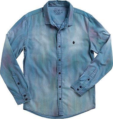 Camisa Av Frost Delave Medium Denim