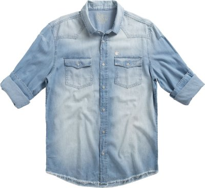 CAMISA LIGHT WEST LIGHT DENIM
