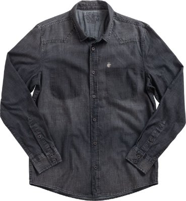 CAMISA AV BLACK LAUNDRY DARK DENIM