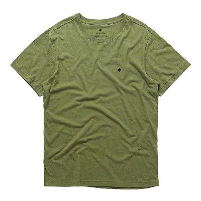 T-Shirt Basis Round Verde Militar