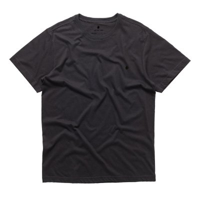 T-Shirt Basis Round Preto
