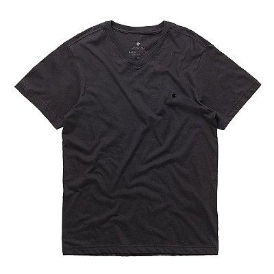 T-Shirt Basis V Preto