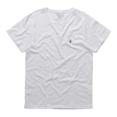 T-Shirt Basis Wave Flame Branco