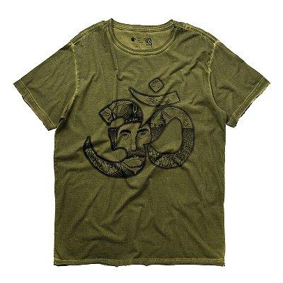T-Shirt Mantra Volke Verde Militar
