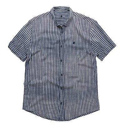 Camisa Striped Straat Marinho